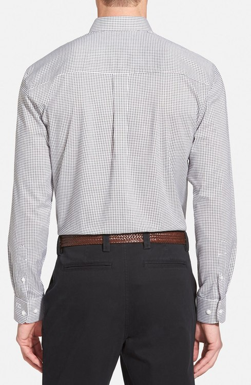 """CUTTER & BUCK More to love David Donahue $135.00 Cutter & Buck $64.00$47.00 Cutter & Buck $65.50 Cutter & Buck $64.00 Cutter & Buck $64.00 Nordstrom Men's Shop $59.50 Size Info True to size. Considered a Classic fit; cut generously with extra room through the chest, armholes and sides. Details & Care Neat tattersall checks style a timeless cotton-blend sport shirt cut with plenty or room through the chest, arms and sides. A smart button-down collar, raised placket and chest pocket complete the classic look, while a convenient wrinkle-free treatment keeps you looking crisp all day long. 31 3/4"""" length. Rounded, adjustable button cuffs. Back yoke with box pleat. Curved hem. 60% cotton, 40% polyester. Machine wash cold, tumble dry low. By Cutter & Buck; imported. Available online only. Item #1097214 Free Shipping & Returns See more Back to top Reviews 'Epic Easy Care' Classic Fit Wrinkle Free Tattersall Plaid Sport Shirt Write a Review(1) Ratings summary 5 out of 5 100%of reviewers recommended this product. 5 stars1 review(s) 4 stars0 review(s) 3 stars0 review(s) 2 stars0 review(s) 1 star0 review(s) Narrow reviews by: Star Rating Fit Age: TOP 1,000 REVIEWERTOP 1,000 REVIEWER November 22, 2015 littledarla michigan Age:50-54 Yes, I recommend this product. Was this review helpful?Yes NoReport inappropriate review business casual Great for business casual days at the office for my husband. Haven't been disappointed in cutter and bucks quality yet. My husband is picky and he wears it which means it is a hit. 'Epic Easy Care' Classic Fit Wrinkle Free Tattersall Plaid Sport Shirt"""