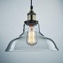 41fcoCLAXY Ecopower Industrial Edison Vintage Style 1-Light Pendant Glass Hanging Lightqveewl