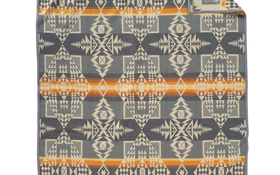 The Pendleton Arrowhead Blanket Doubles as