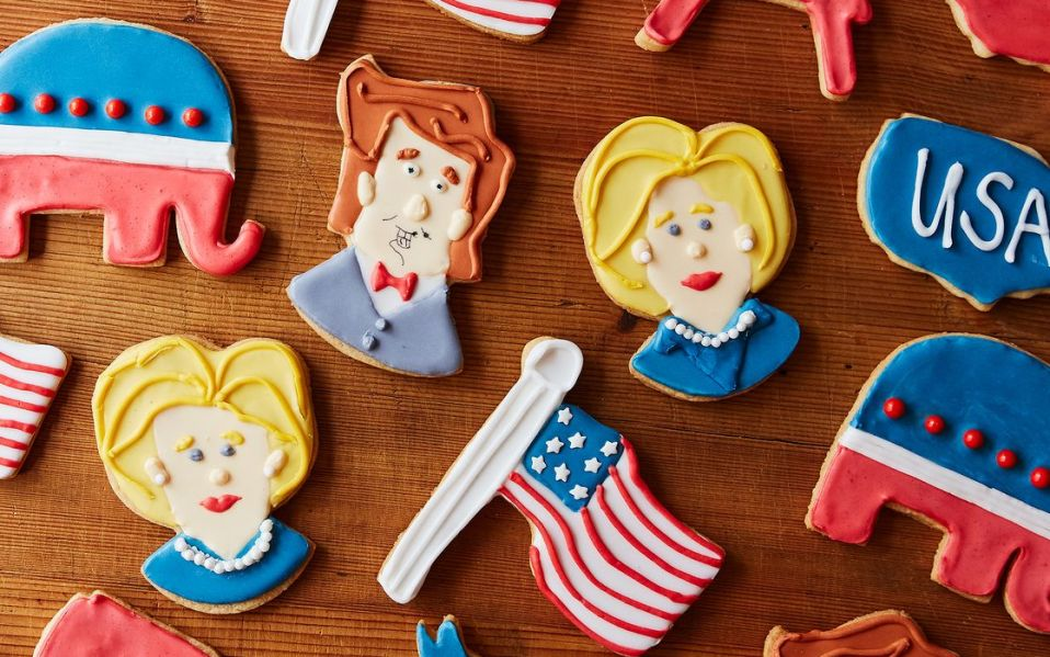 The Election 2016 Cookie Cutter Set