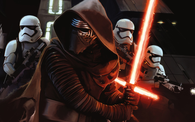 'Star Wars The Force Awakens' on