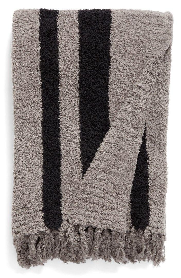 Barefoot Dreams CozyChic® 'Beach' Fringe Throw Blanket