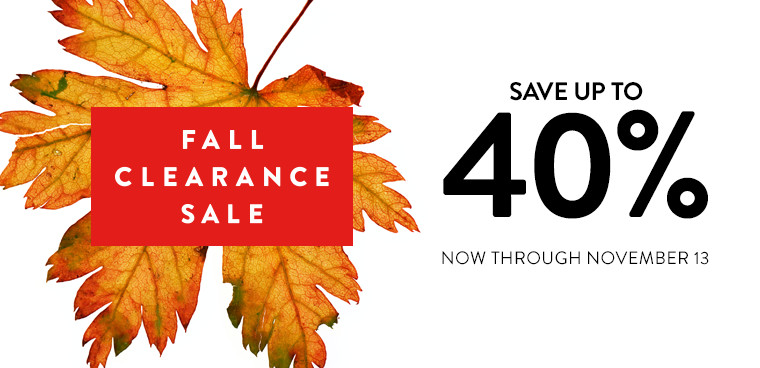 Nordstrom's Fall Clearance Sale: Warm &