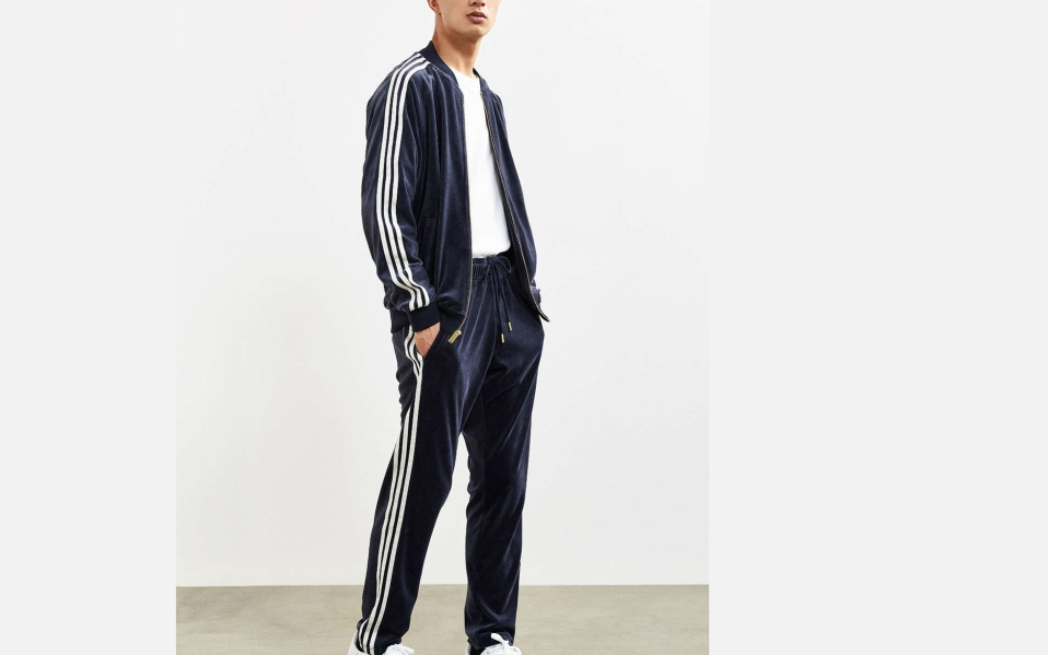 adidas Velour Superstar Track Pant