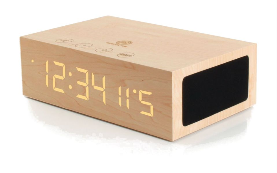 GOgroove Bluetooth Digital Alarm Clock