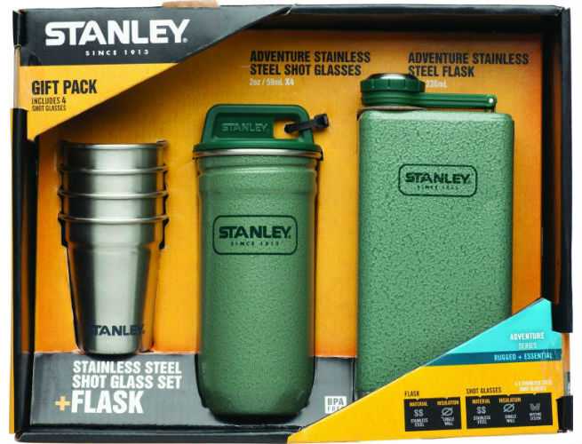 Stanley Stainless Steel Shots + Flask
