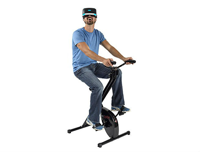 VirZOOM Virtual Reality Exercise Bike and