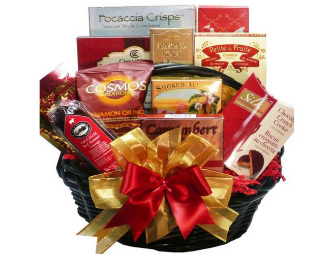 Happy Times Gourmet Food Basket