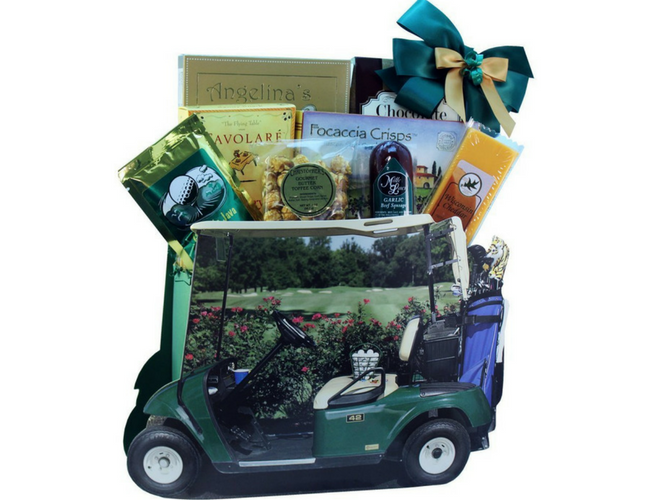Gone Golfing! Golf Cart Gift Bag Tote