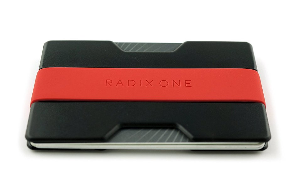 The Radix One Slim Wallet Banishes