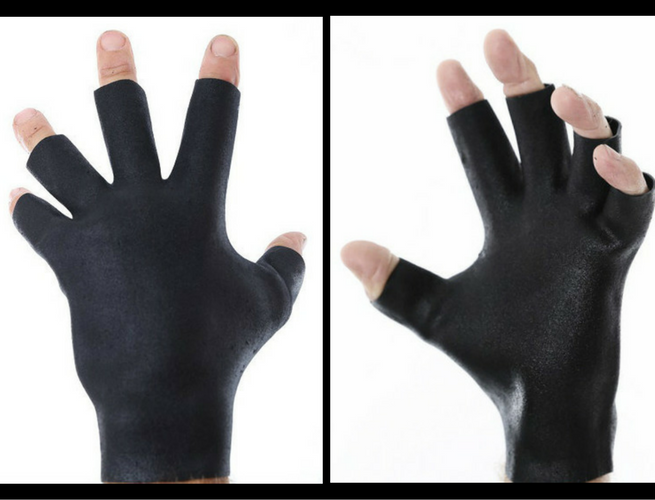 heavy-duty fingerless workout gloves darkfin