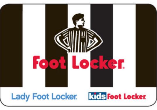 foot locker gift card