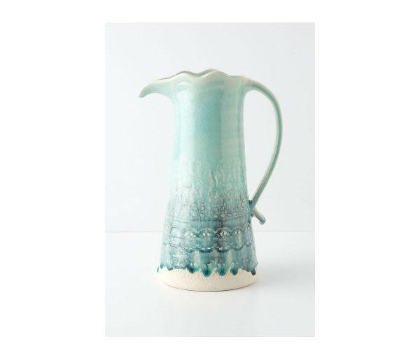 decorative pitcher anthropologie