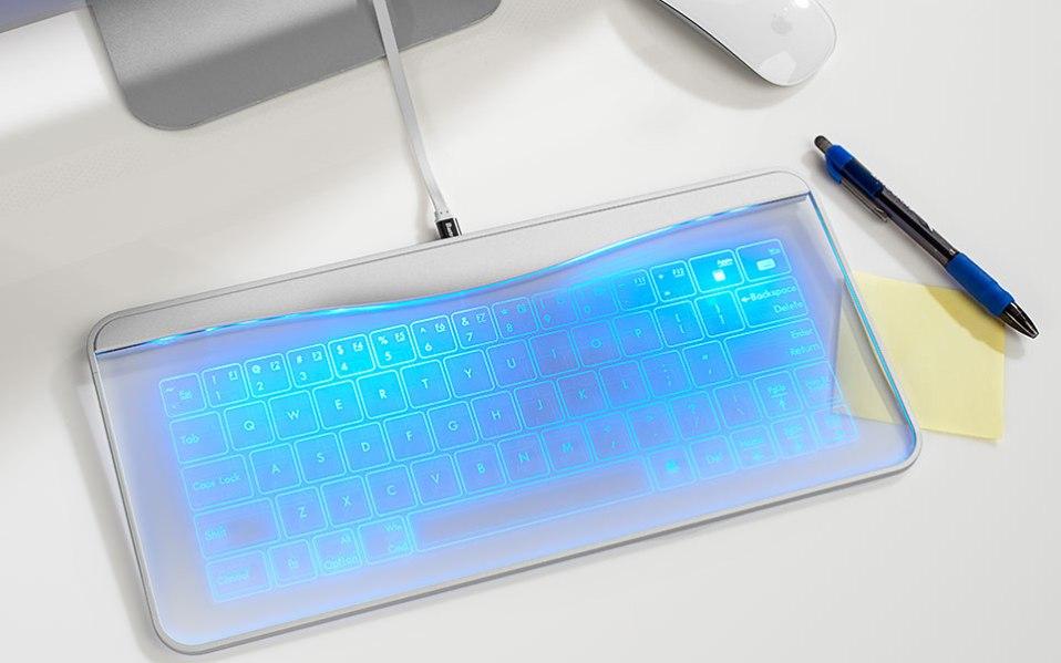 waterproof keyboard sharper image