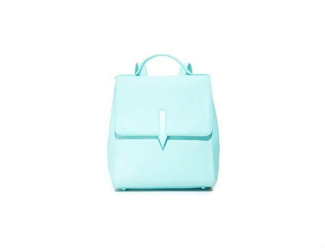 leather backpack arrow karen walker