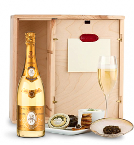 Louis Roederer Cristal Brut 2007 Ultimate Champagne & Caviar Experience