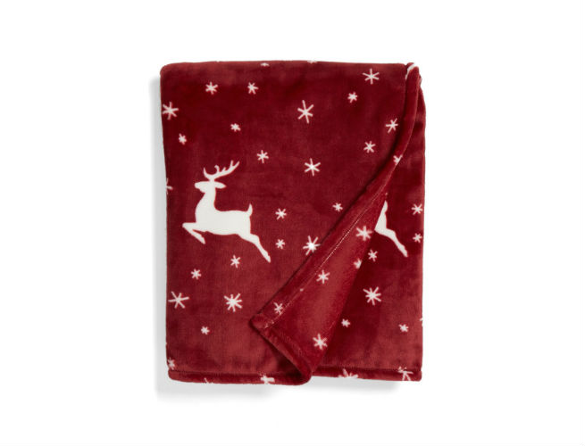 Nordstrom at Home Print Plush Throw