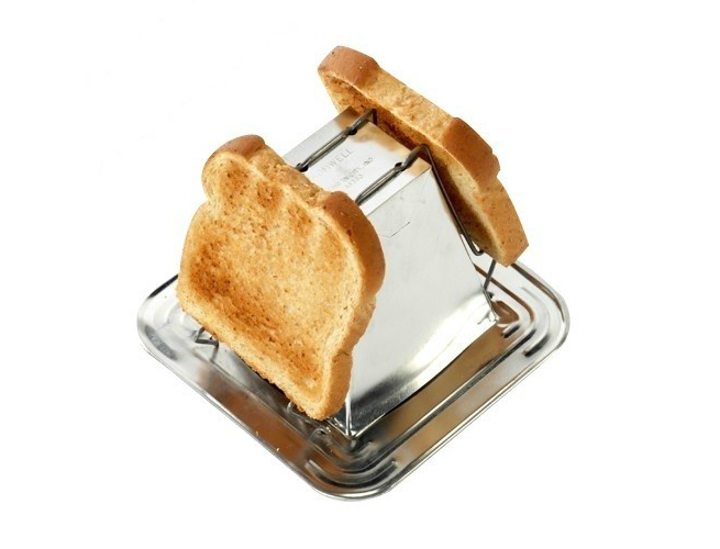 camping toaster pyramid jacob bromwell