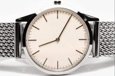 Uniform Wares Steel Watch