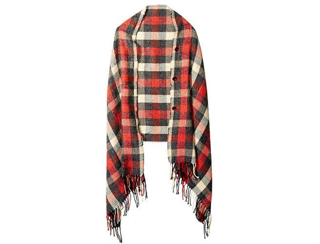 winter lodge poncho woolrich