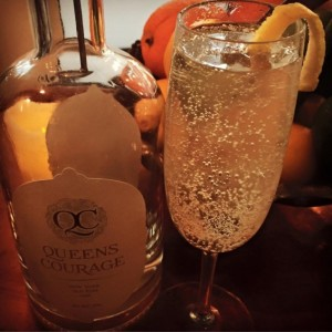 QUEENS COURAGE OLD TOM GIN 750ML