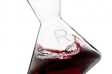 Angled Wine Decanter