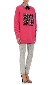 Embellished Wool-Blend Sweatshirt