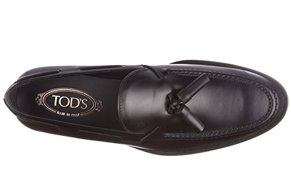 Try These Black Leather Loafers From