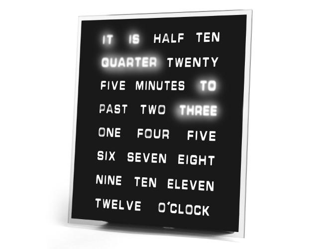 word clock LED