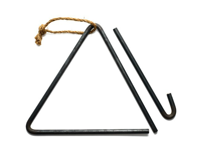 triangle dinner bell Jacob Bromwell