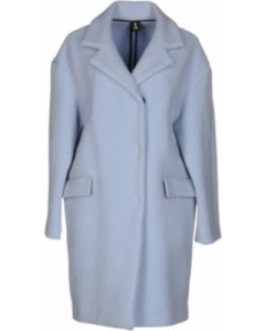 Made in Italy, this wool blend coat features a lapel collar, double-breasted construction and a snap button closure. Graceful and elegant, it keeps you warm and looking stylish all at once.