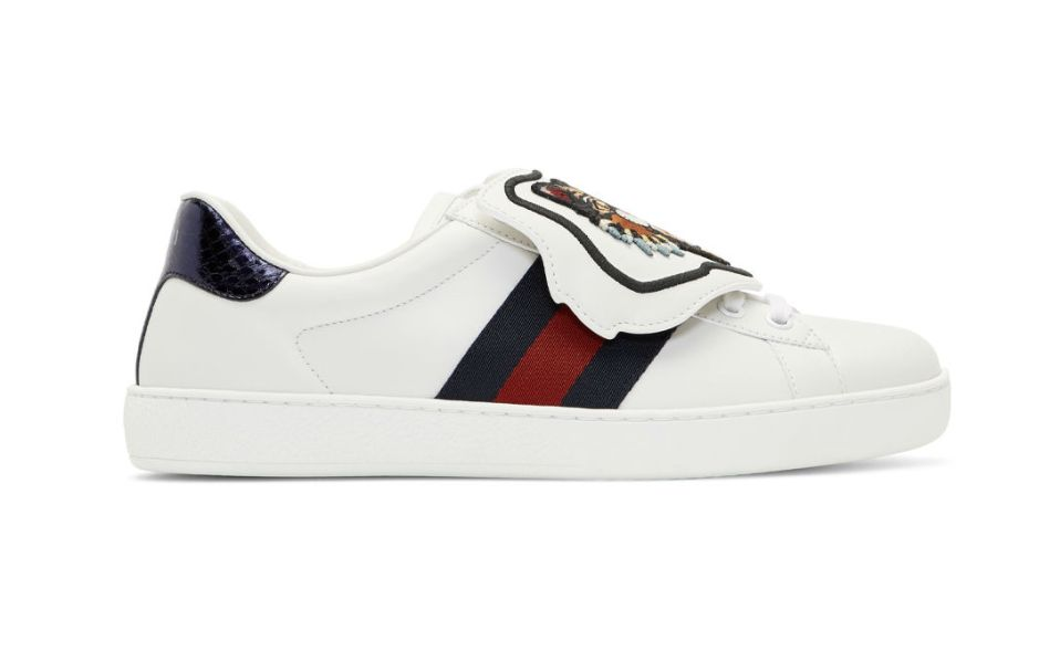 White New Ace Gucci Sneaker
