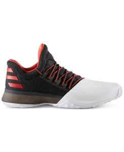 """The first edition of adidas' Harden Vol.1 Basketball Sneakers. The """"Home"""" edition drops this weekend."""