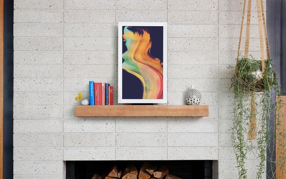 EO2 digital wall art display