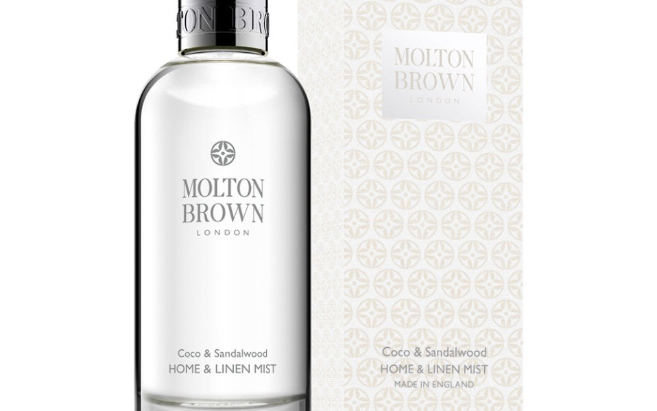 home spray by Molton Brown
