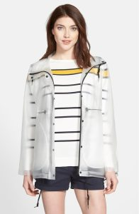 HUNTER Original Smock Hooded Drawstring Waterproof Jacket