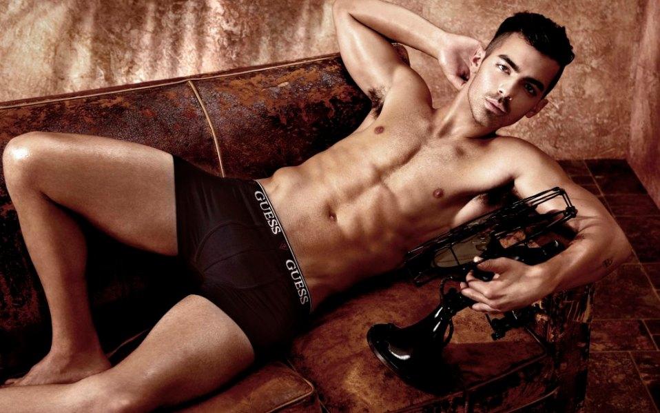 Joe Jonas Underwear Guess