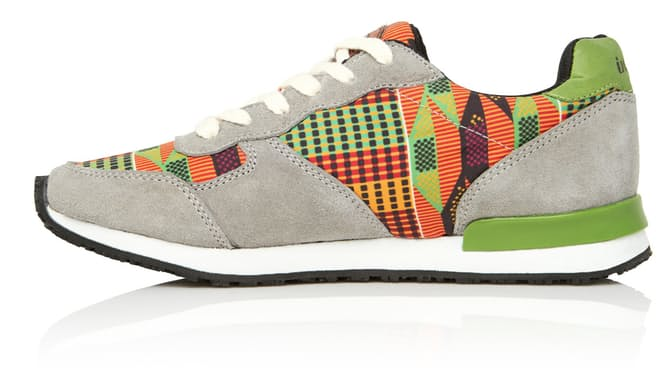 These Kente Cloth Shoes Celebrate a