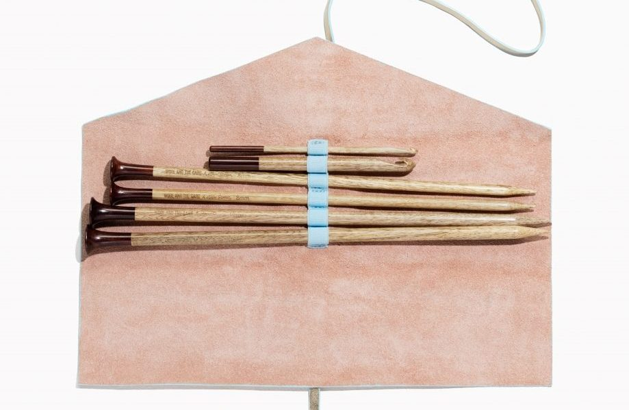 best knitting needle case Wool and