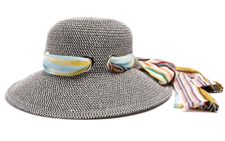 paper hat by Missoni Mare