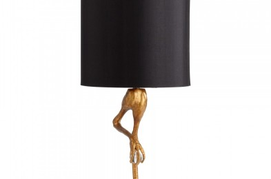 Ozzy Gold Lamp