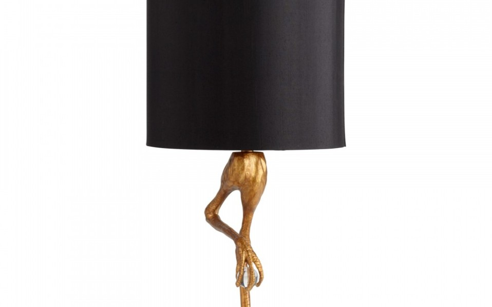 Gold Bird Lamp Ozzy