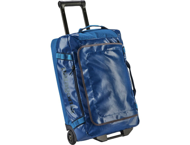 rolling duffel bag from Patagonia