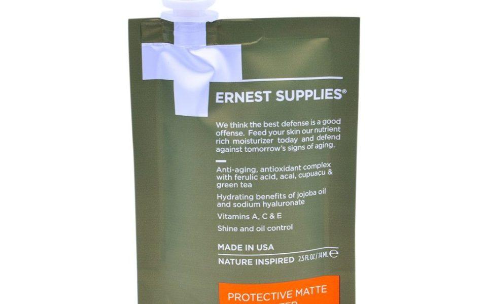 Ernest Supplies moisturizer