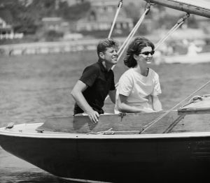 JFK And Jackie, Hyannis Port, USA