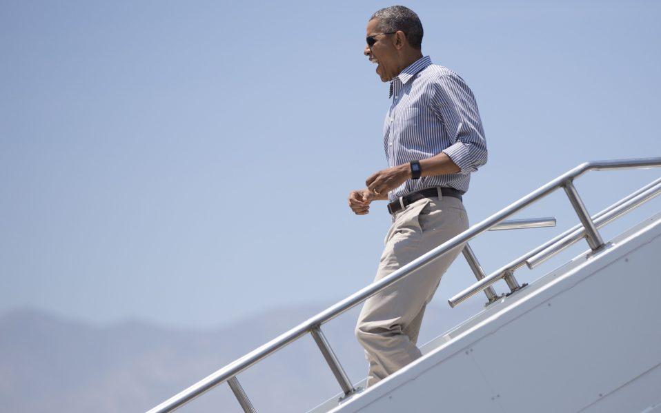 obama palm springs vacation
