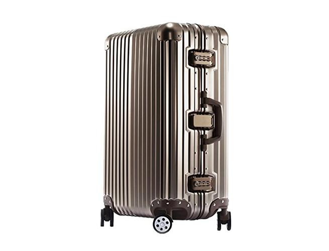 spinner luggage OCCA aluminum magnesium
