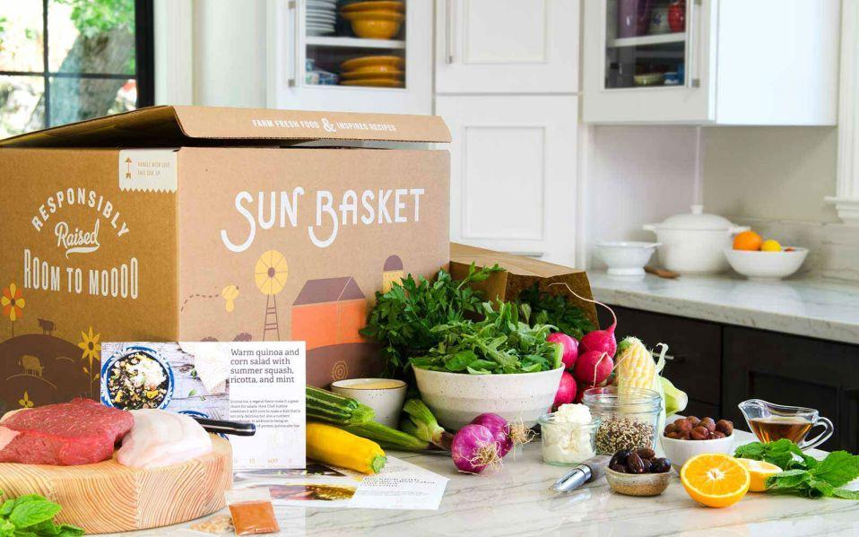sun basket food delivery