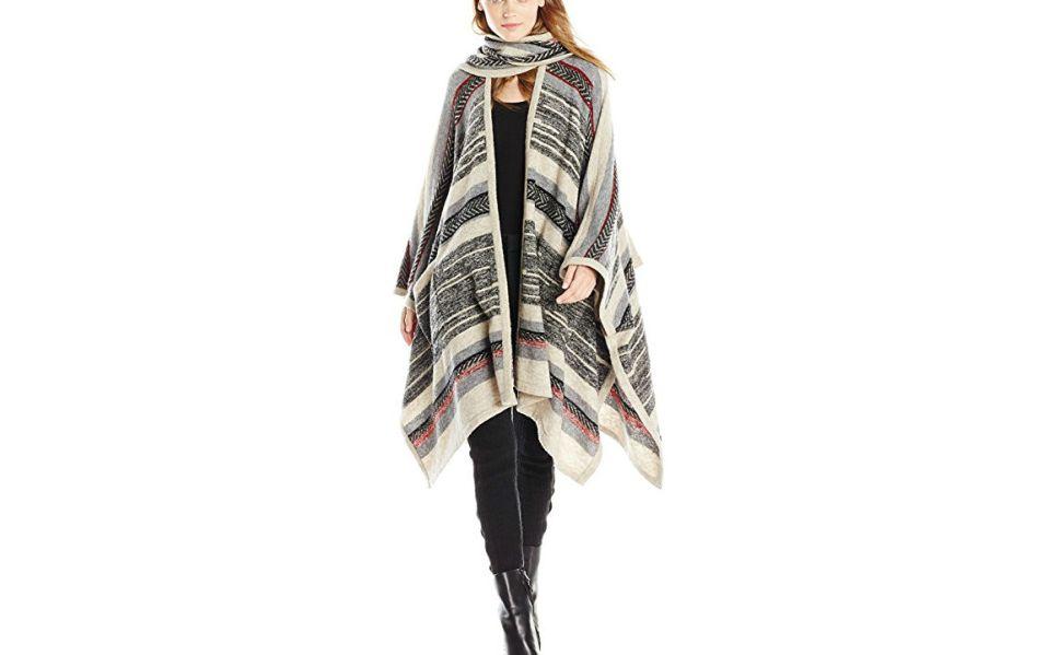 scarf poncho Twelfth Street by Cynthia