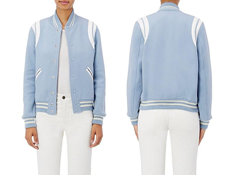 Saint Laurent's Varsity Jacket is The